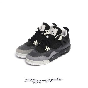 "Nike Air Jordan 4 Retro ""Fear Pack"" (2013) (GS) -USADO-"