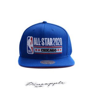 "MITCHELL & NESS - Boné NBA All Star 2020 Chicago ""Azul"" -NOVO-"