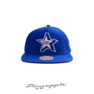 "MITCHELL & NESS - Boné All Star 88 Star ""Azul"" -NOVO-"