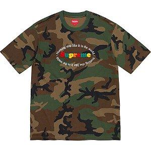 """SUPREME - Camiseta Nothing Else """"Camo"""""""