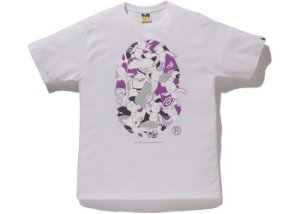 "BAPE x MEDICOM - Camiseta NYC Big Head Bearbrick ""Branco"" -NOVO-"