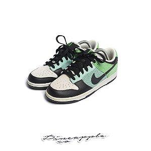 """Nike Dunk Low 6.0 """"Mint/Black/Hyper Verde/Jetstream"""" (2009) -NOVO-"""