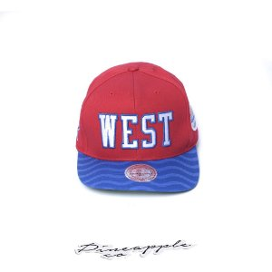 "MITCHELL & NESS - Boné NBA Wave All Star West ""Red/Blue"""
