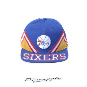 "MITCHELL & NESS - Boné Multiply Sixers 76ers ""Blue/Red/Yellow/White"""