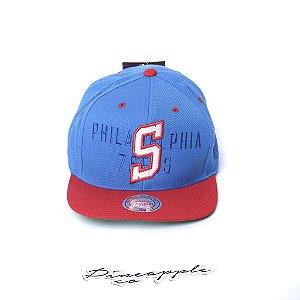 "MITCHELL & NESS - Boné First Latter III S Philadelphia ""Blue/Red"""
