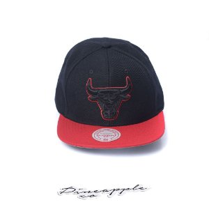 "MITCHELL & NESS - Boné NBA Pop Block Chicago Bulls ""Black"""