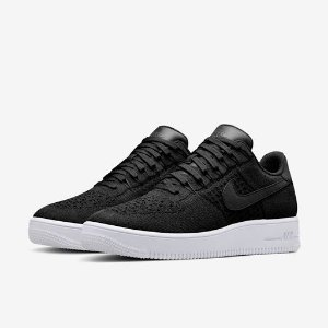 "Nike Air Force 1 Ultra Flyknit Low ""Black/White"" -NOVO-"