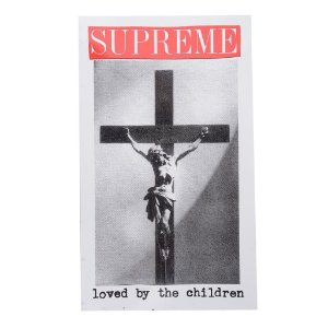 SUPREME - Adesivo SS20 Loved By The Children