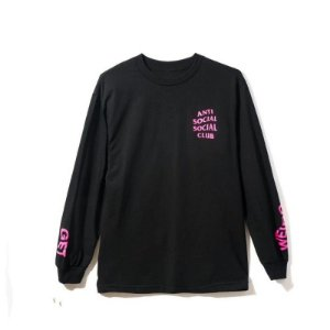 "ANTI SOCIAL SOCIAL CLUB - Camiseta Manga Longa Get Weird ""Black"""