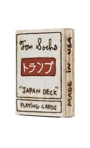 "TOM SACHS  - Baralho ""Japan Deck"" -NOVO-"