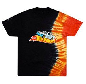 "TRAVIS SCOTT - Camiseta Jackboys Racing Tie Dye ""Preto"" -NOVO-"