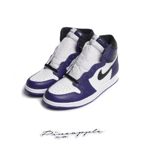 "Nike Air Jordan 1 Retro ""Court Purple/White"" -NOVO-"