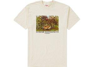 """SUPREME - Camiseta Masterpieces """"Beige"""""""