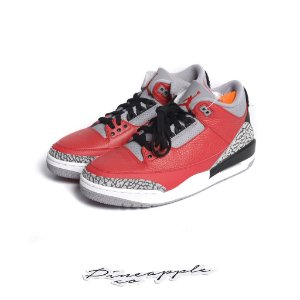 "NIKE - Air Jordan 3 Retro ""Fire Red Cement"" -NOVO-"