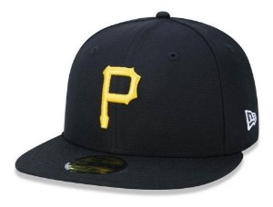 "NEW ERA - Boné Pittisburgh Pirates ""Black"""