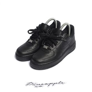"""Nike Air Force 1 Low """"Black"""" (Infantil) -NOVO-"""