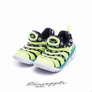 """Nike Dynamo Free """"Green/Black"""" (Infantil) -NOVO-"""