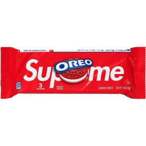 "Supreme x Oreo - Bolacha Recheada ""Red"" (Pacote com 3 unidades)"