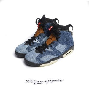 "NIKE - Air Jordan 6 Retro ""Washed Denim"" -NOVO-"