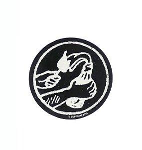 SUPREME - Adesivo SS18 Molotov (Black)