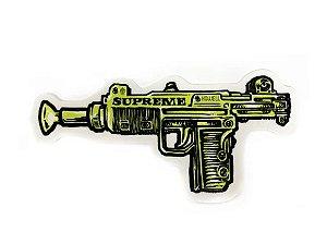 "SUPREME - Adesivo SS19 Andy Howell Gun ""Verde"" -NOVO-"