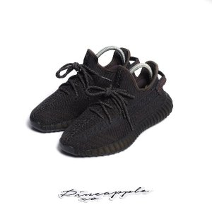 """adidas Yeezy Boost 350 V2 """"Black"""" (Non-Reflective) -USADO-"""
