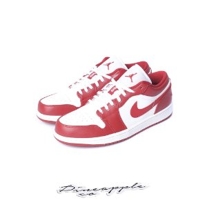 "NIKE - Air Jordan 1 Low ""Gym Red/White"" -NOVO-"