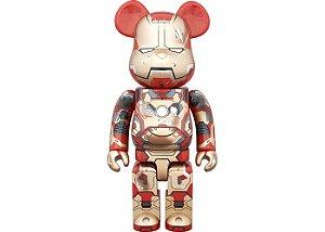 MEDICOM TOY x BEARBRICK - Iron Man 3 Mark XLII 400%