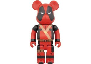 "MEDICOM TOY x BEARBRICK - Boneco 400% ""DeadPool"" -NOVO-"