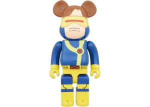 "MEDICOM TOY x BEARBRICK - Boneco X-Men 400% ""Cyclops"" -NOVO-"