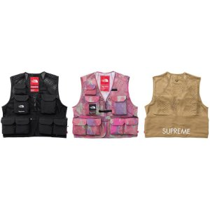 ENCOMENDA - Supreme x The North Face - Colete Cargo