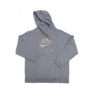 "NIKE x KITH - Moletom Logo Camo ""Grey"" -USADO-"