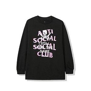 "Anti Social Social Club x Neighborhood - Camiseta Manga Longa Black Jack ""Black"""