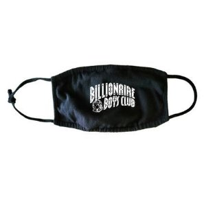 "BILLIONAIRE BOYS CLUB - Máscara Classic Curve Logo ""Black"""