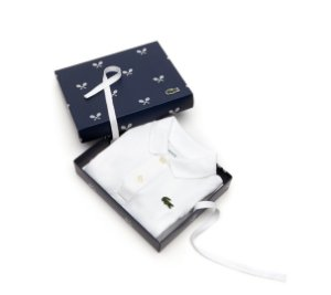 "LACOSTE - Body Polo ""White"" (Infantil)"