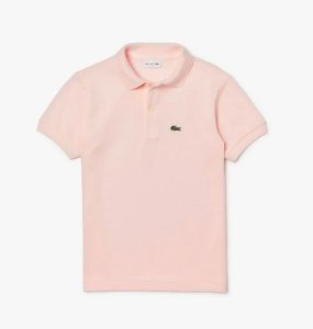 "LACOSTE - Camisa Polo Classic Piqué ""Light Pink"" (Infanti)"