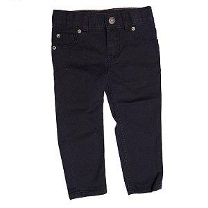 """CARTER'S - Calça Jeans Straight """"Black"""" (Infantil)"""