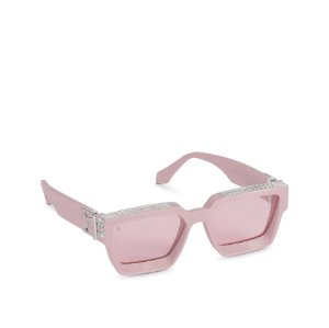 """LOUIS VUITTON - Óculos 1.1 Millionaires """"Pale Pink"""" -NOVO-"""