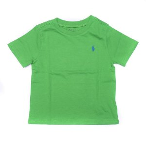 "POLO RALPH LAUREN - Camiseta Jersey Crewneck Baby ""Verde"" (Infantil) -NOVO-"