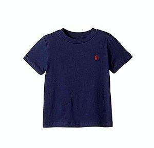 "POLO RALPH LAUREN - Camiseta Jersey Crewneck Baby ""Navy"" (Infantil)"