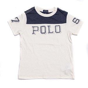 """POLO RALPH LAUREN - Camiseta Cotton Jersey Graphic """"Sand"""" (Infantil)"""