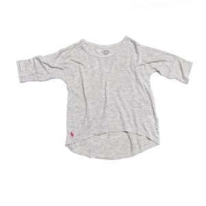 "POLO RALPH LAUREN - Camiseta Meia Manga ""Grey"" (Infantil)"