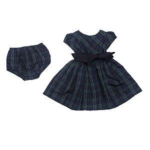 "POLO RALPH LAUREN - Vestido Plaid & Bloomer Baby ""Green"" (Infantil)"