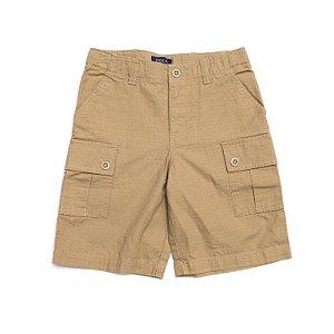 "POLO RALPH LAUREN - Bermuda Cotton Chino Cargo Kids ""Khaki"" (Infantil) -NOVO-"