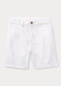 "POLO RALPH LAUREN - Bermuda Straight Fit Chino Kids ""White"" (Infantil)"