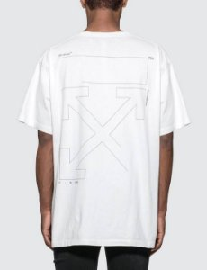"OFF-WHITE - Camiseta Unfinished ""White"""