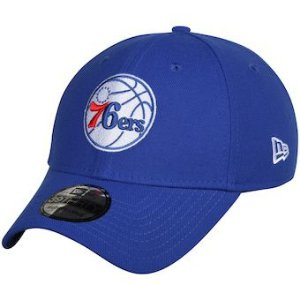 "MITCHELL & NESS - Boné NBA Team Ground 76ers Flexfit Fitted ""Azul"" -NOVO-"