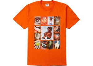 "SUPREME - Camiseta Original Sin ""Orange"""