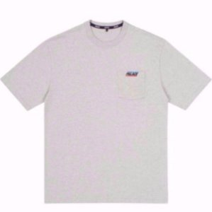 "PALACE - Camiseta Basically a Pocket ""Grey"""