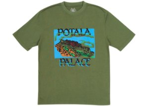 "PALACE - Camiseta Pot Potala ""Olive"""